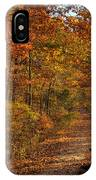 Fall At Center Point Trailhead IPhone Case