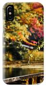Fall At Tyler State Park IPhone Case