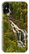 Fall At Whitewater Falls  IPhone Case