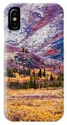 Fall Colours In Ogilvie Mountains IPhone Case