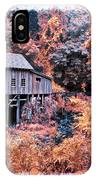 Fall Grist Mill IPhone Case