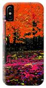 Fall In Red IPhone Case