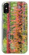 Fall Ivy On The Trees IPhone Case