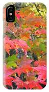 Fall Leaves Filtered IPhone Case