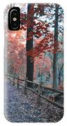 Fall On Forbidden Drive IPhone Case