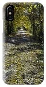 Fall On Macomb Orchard Trail IPhone Case