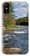 Fall On Swift River IPhone Case
