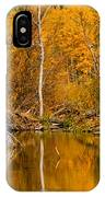 Fall On Taylor Creek IPhone Case