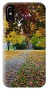 Fall Park IPhone Case