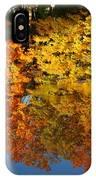 Fall Reflectionsin Michigan IPhone Case