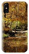 Fall River Colors IPhone Case
