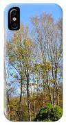 fall scapes in CT IPhone Case