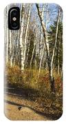 Fall Trail Scene 35 A IPhone Case