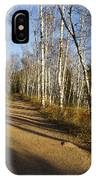 Fall Trail Scene 35 B IPhone Case