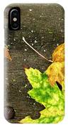 Fall Trio IPhone Case