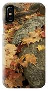 Fallen Autumn Sugar Maple Leaves IPhone Case