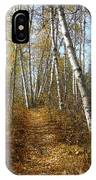 Falling Leaves IPhone Case