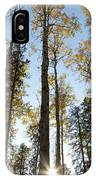 Falling Sunlight Fort Mcmurray IPhone Case