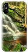 Falling Through The Woods IPhone Case