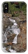 Falling Water Glen Alpine Falls IPhone Case