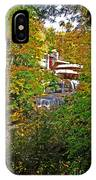 Falling Waters House Setting IPhone Case