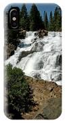 Falls In Site Glen Alpine Falls IPhone Case