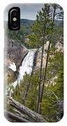 Falls In The Grand Canyon Of Yellowstone IPhone Case