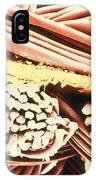False-colour Sem Of The Fabric Gore-tex IPhone Case