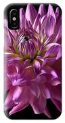 Fancy Dahlia IPhone Case