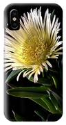 Fancy Ice Plant IPhone Case