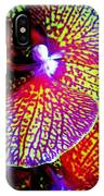 Fantasy Orchid 1 IPhone Case