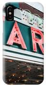 Fargo Theatre Sign In North Dakota IPhone Case