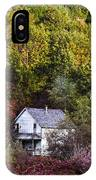 Farmhouse In Fall IPhone Case