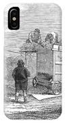 Farming: Threshing, 1851 IPhone Case