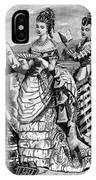 Fashion: Womens, 1874 IPhone Case
