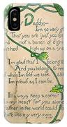 Fathers Day Card, 1912 IPhone Case