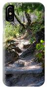 Feather Falls Stairway IPhone Case
