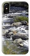 Feather River White Water IPhone Case
