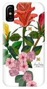 February 2012 Roses And Blooms IPhone Case