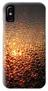 February Morning Dew Drops IPhone Case
