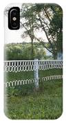 Fence Or Shoes IPhone Case