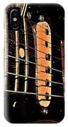 Fender In Brown IPhone Case