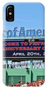 Fenway's 100th IPhone Case