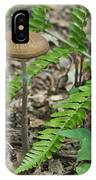 Fern Frond And Mushroom 5 IPhone Case
