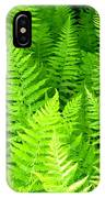 Ferns Galore Filtered IPhone Case