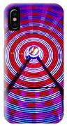 Ferris Wheel Purple IPhone Case