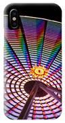 Ferris Wheel Rainbow IPhone Case