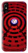 Ferris Wheel Red IPhone Case