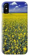 Field Of Canola IPhone Case