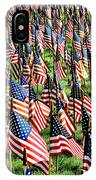 Field Of Flags IPhone Case